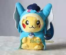 Pokemon  Pikados Cosplay Hiroshima Gyarados Pikachu Plush Keychain Chain US XMAS