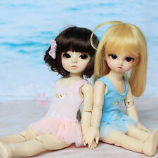 New Pink/Blue Siamesed Lovely Bubble Skirt/Swimwear For 1/6 YOSD BB BJD Clothes