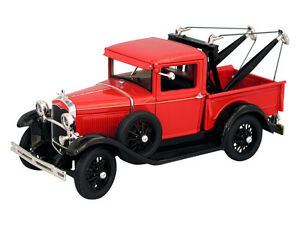 1:18 Signature Models Red 1931 Ford Model A Tow Truck Item Number 18116