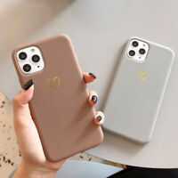 For iPhone 12 11 Pro Max XS XR 7 8 Cute Love Heart Shockproof Soft Case Cover