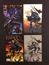 ANGEL: AFTER THE FALL #10 Signed SDCC Exclusive SPIKE #1 Ltd Variant  Overlay NM