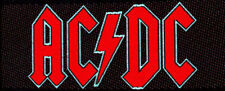 AC/DC - Red Logo Patch Not Specification #102904