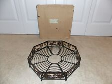 * Longaberger * Wrought Iron (Patio Umbrella Surround) Summertime Floral