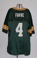 Green Bay Packers Brett Favre Champion Kids XL 18/20 Green Jersey