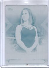 2019 Topps WWE RAW CHARLY CARUSO #17 Wrestling 1/1 CYAN PRINTING PLATE Rare SSP