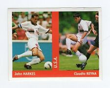 figurina DS CALCIATORI WORLD CUP FRANCE 98 NUMERO 273 U.S.A. HARKES, REYNA