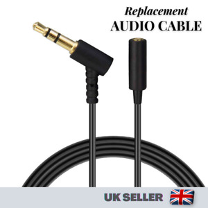 Replacement Extension Cable for Bose Headphones Earphones 3.5mm Male to Female