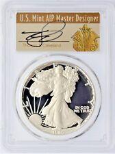1986-S $1 Proof Silver Eagle PR70 PCGS Thomas Cleveland Art Deco