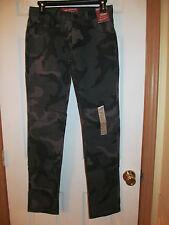 NWT Mens ARIZONA JEAN CO SKINNY JEANS W 29 L32, black camo, camouflage
