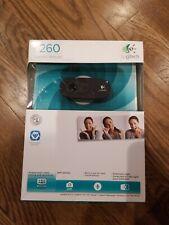 Logitech Webcam C260 Video Calling Recording Wide Screen Skype Messenger New