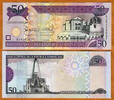 Dominican Republic, 50 Pesos Oro, 2006,  P-176, TDLR UNC