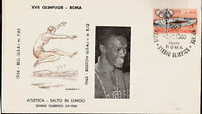 1960 Olympic Games Italy USA Gold Medal Ralph Boston Long Jump First Day Cover