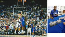 "Mario Chalmers ""The Shot"" Kansas Jayhawks KU 2008 Champs SIGNED 8x10 AUTOGRAPHED"