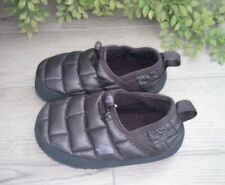 The North Face Black Thermal Tent Mule Shoes Kids Size 12