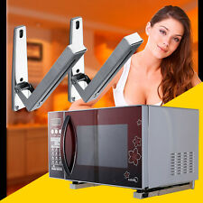 2pc Stainless Steel Microwave Wall Mountinglder Brackets With Extendable Arms PY