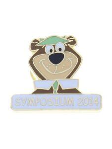 Hanna Barbara Yogi Bear Symposium 2014 Hat Lapel Pin