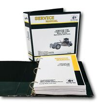 Technical Operations Amp Testing Manual For John Deere 770b 772b Motor Road Grader