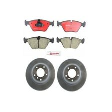 BMW E85 Z4 2006-2007 Complete Front Disc Brake Rotors Kit With Pads Brembo NEW
