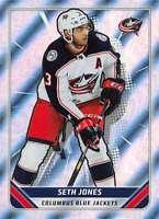 2019-20 Topps NHL Stickers #141 Seth Jones Columbus Blue Jackets Foil