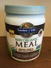 Garden of Life RAW Organic Meal 17.9 oz Chocolate Vegan Protein Meal Replacement