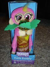 New Fingerlings Bath buddy banana body wash & glove/mitt Bella pink monkey
