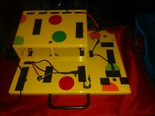 FIX PEDALBOARDS GUITAR effect PEDAL POWERED 2 TIER YELLOW BOUTIQUE PedalBoard
