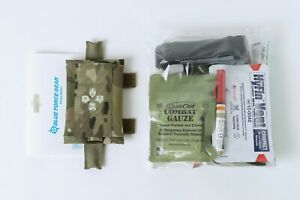 BLUE FORCE GEAR Micro Trauma Kit NOW! W/ Advanced Med Kit - Multi Cam iFAK-Belt