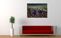 "NEW YORK TILT SHIFT NEW GIANT LARGE ART PRINT POSTER PICTURE WALL 33.1""x23.4"""