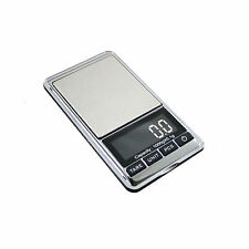 Large Reverse Back-Lit LCD Digital Pocket Scale .1-1000g CHROME-1KG by AWS