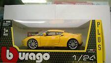 BURAGO 1:24 AUTO MONTATA LOTUS EVORA S IPS GIALLA   ART 18-21064