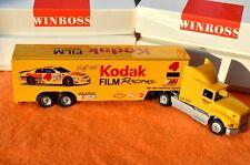 WINROSS Kodak Film Racing Sterling Marlin Chevy 1:64 NASCAR Transporter Truck A1