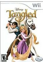 Tangled Nintendo Wii Kids/girls Game Disney U
