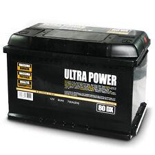 Ultra power batteria per auto 80ah dx 700a pronta all'uso lunga durata e potenza