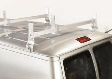 Heavy Duty Steel 2 Cross Support Ladder Rack - for Ford E-Series Vans