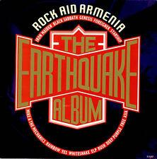 Varios Rock ayuda Armenia: el Terremoto álbum 1990 Reino Unido Lp Excelente Estado