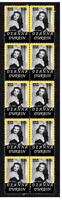 1930s FILM STAR DEANNA DURBIN STRIP OF 10 MINT VIGNETTE STAMPS 5