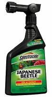 Spectracide Japanese Beetle Bug Insect Killer Spray Foliage Insect Control 32 Oz