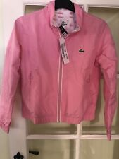 Girls Genuine Pink And White  Lacoste Tracksuit. Age 12.