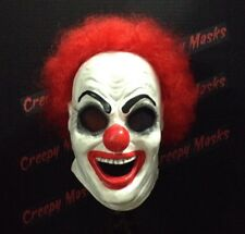 Giggles Clown Mask Ghost Face jason myers freddy Purge Creepy
