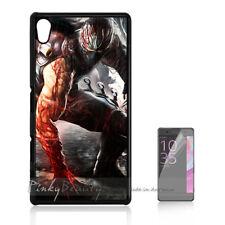 ( For Sony Z3 ) Back Case Cover P11108 Ninja Blood