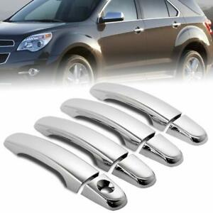 For 2010-17 Chevy Equinox GMC Terrain 2008-12 Malibu Chrome 4 Door Handle Covers