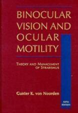 Binocular Vision and Ocular Motility, 5th Edition (Vol 5)