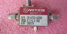 MITEQ CD-4753-42960 4.7-5.3GHz 16dB RF Bi-directional Coupler With Detector