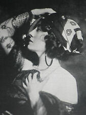 Actress Pauline Frederick 1921 Alfred Cheney Johnston Photo Article 8548