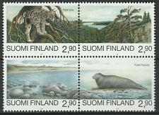 Finland 1995 Fauna Animals joint Russia 4 MNH stamps