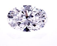 GIA Certified Natural Loose Diamond Oval Shape 1.07 CT E Color FLAWLESS Clarity