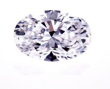 GIA Certified Natural Loose Cut Diamond Oval Shape 1.07 CT E Color Clean Clarity