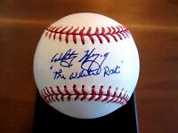 WHITEY HERZOG THE WHITE RAT CARDINALS HOF MANAGER SIGNED AUTO OML BASEBALL JSA