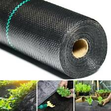 Garden Patio Weed Control Fabric Landscape Ground Cover Plants Flower Protection