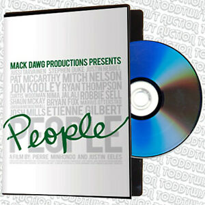 PEOPLE- Snowboard / Snowboarding DVD - A Mack Dawg Production